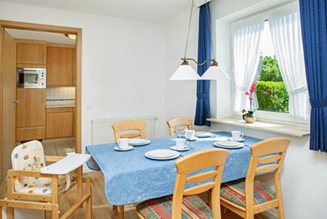 Gästehaus Jacobsen 1, Ferienwohnung Erdgeschoss