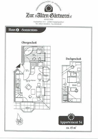 Wohnpark 'Zur Alten Gärtnerei', Wohnung 54