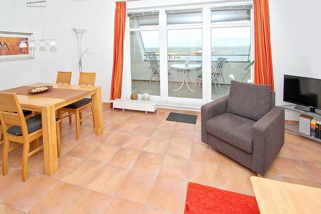 Hafenhäuser Wiek, A 08: 59 m², 2-Raum, 2 Pers., Ba