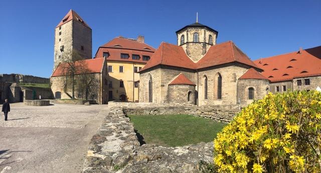Streichwehr auf Burg Querfurt, Ferienwohnung 'klei