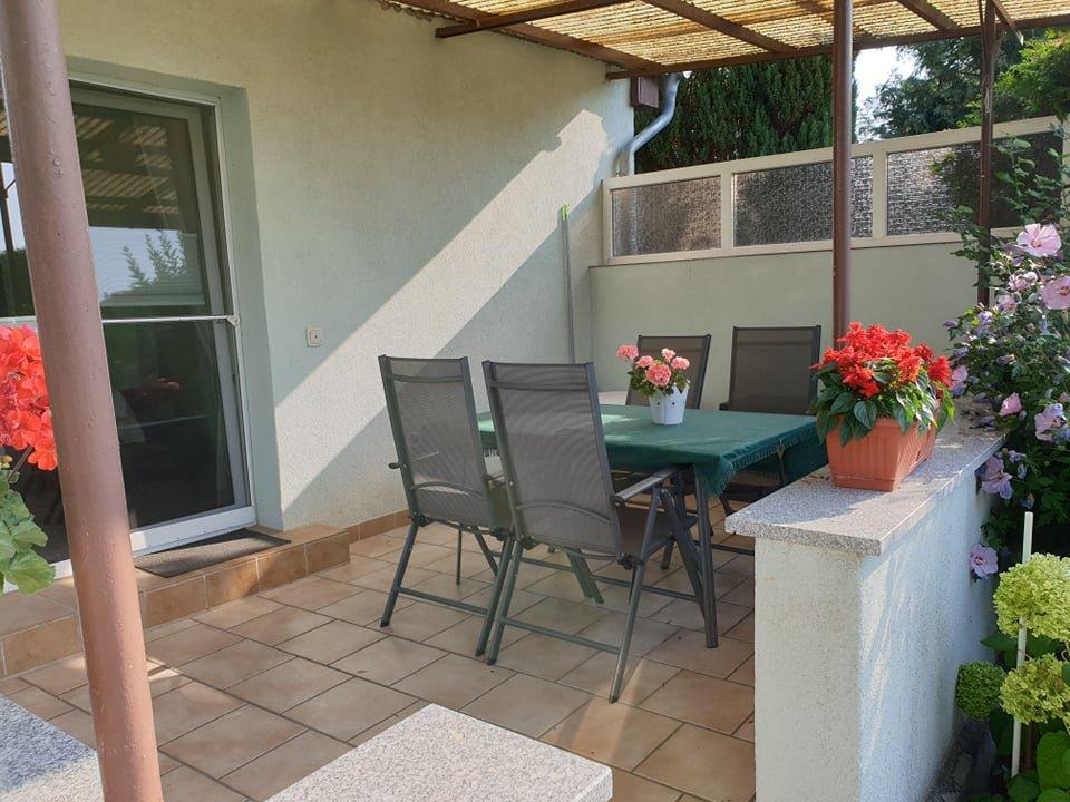 Sitzecke mit Terrasse