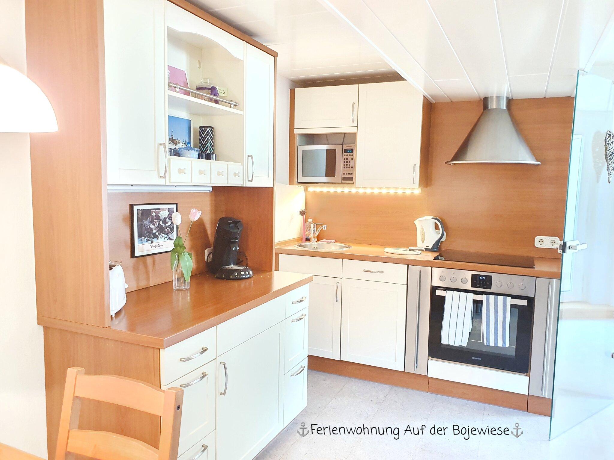 Wohn- Esszimmer und Küche