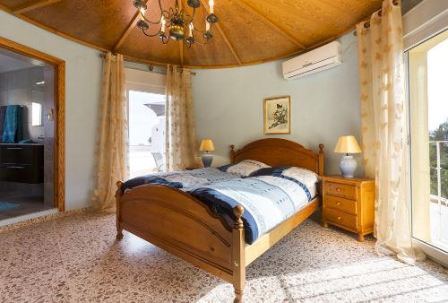Schlafzimmer OG, Klima, SAT TV