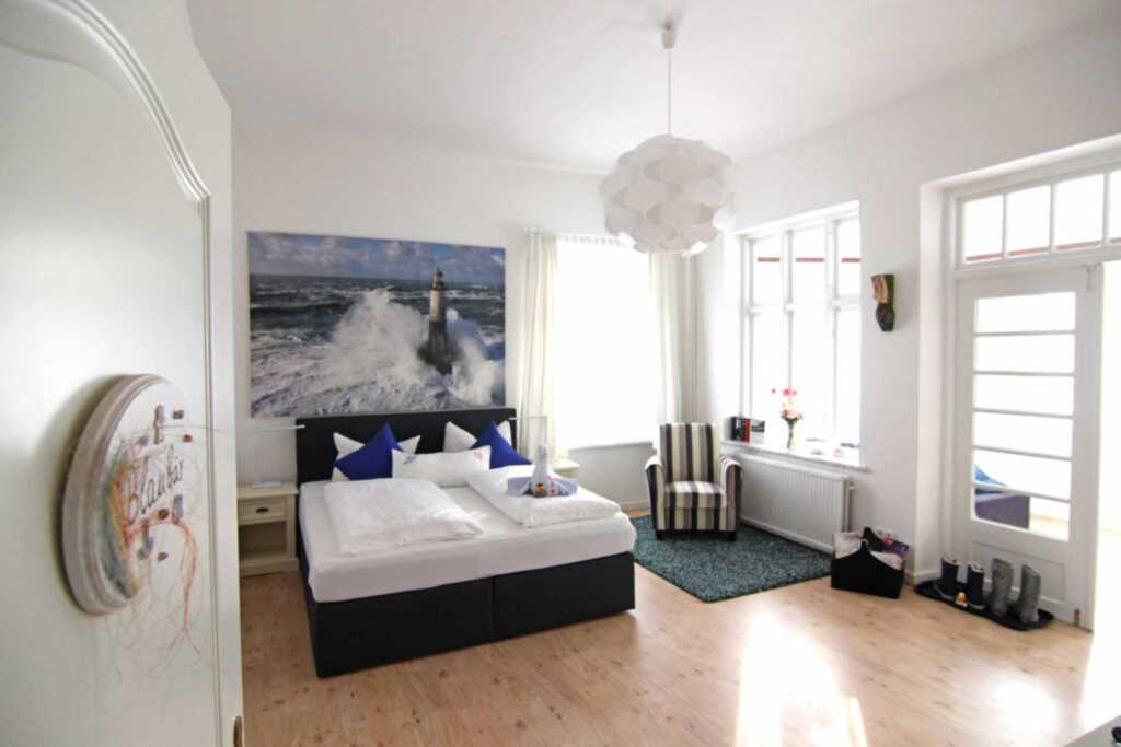 Pension Lassen, Doppelzimmer Blau Bär