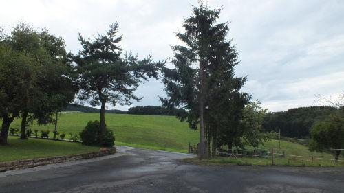 Blick vom Hof nach Westen
