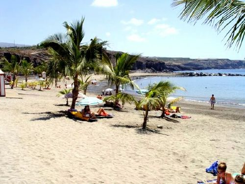 Strand vom Ort
