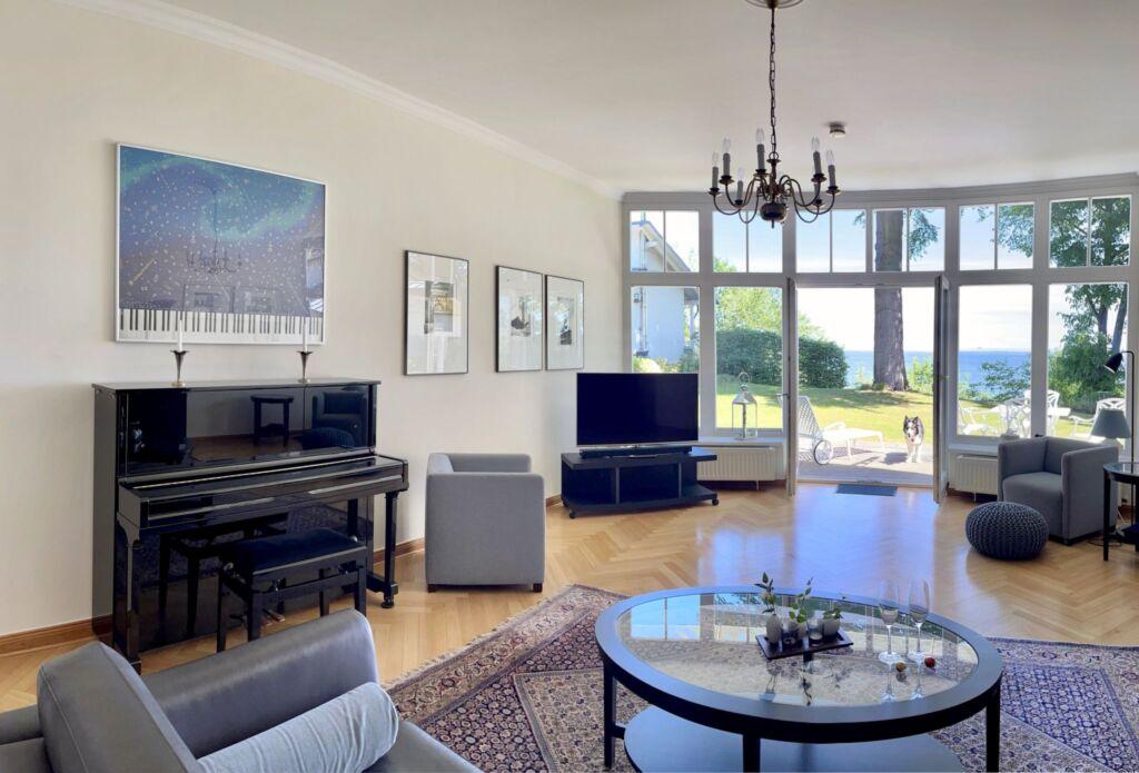 Villa Achterkerke, uErdgeschoss