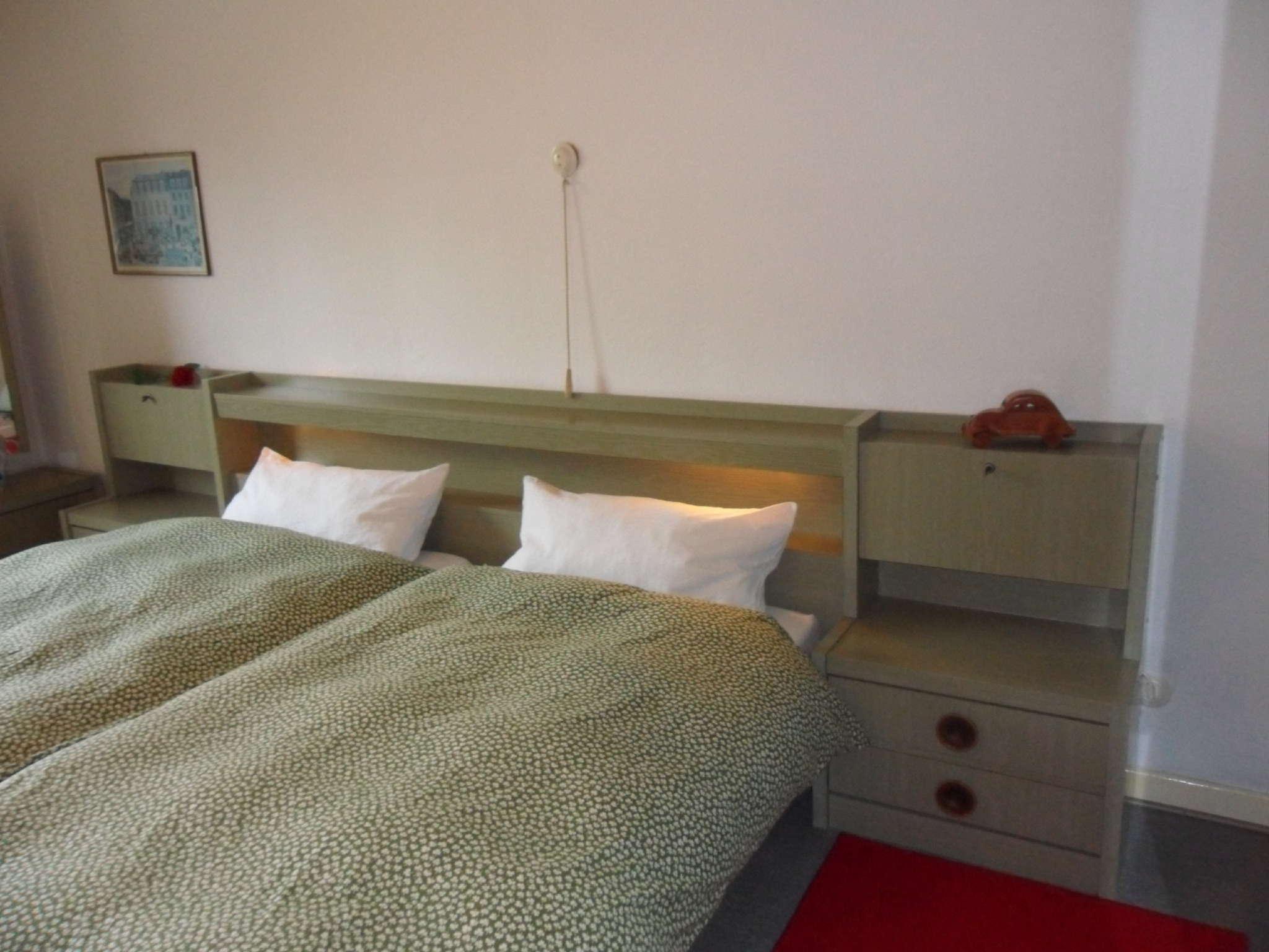 Schlafraum Doppelbett