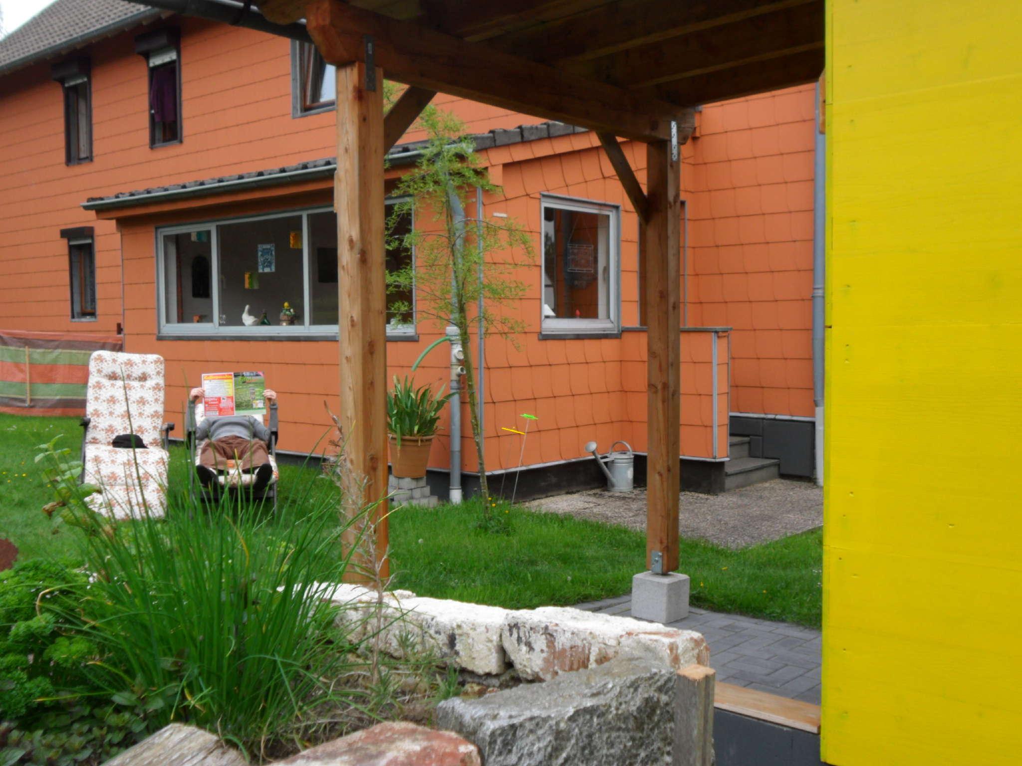 Ferienhaus Haus am Ravelradweg im Sommer