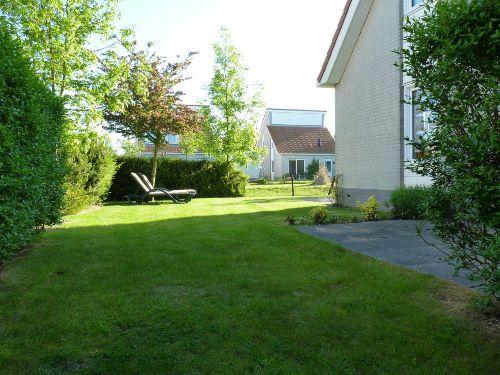 Garten Seitenansicht