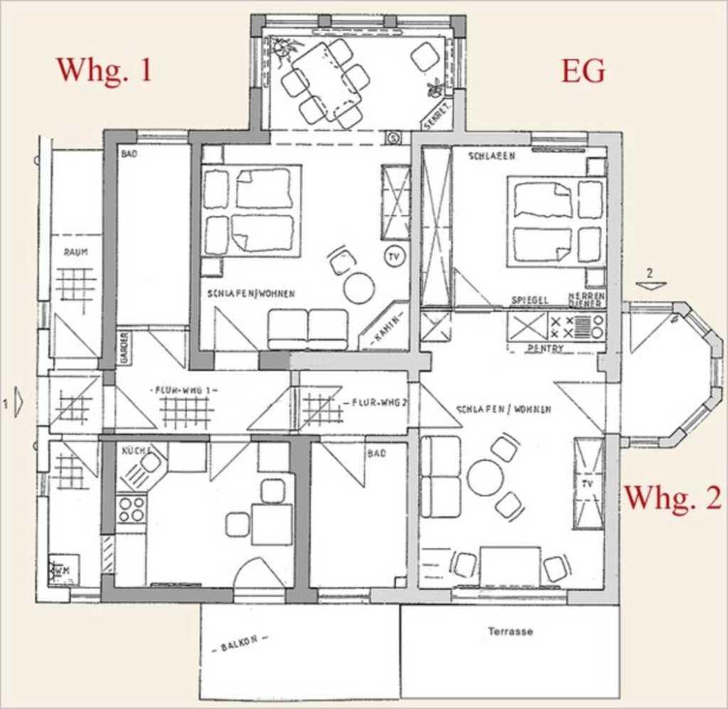 Wald-Residenz *****, Wohnung 1
