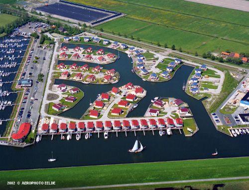 Luftfoto von dem Wasser/Marina Park