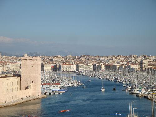 Der alte Hafen von Marseille