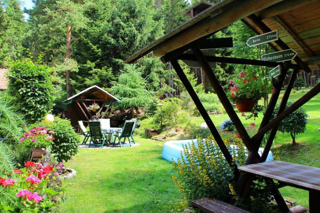 Th�ringer Waldbaude, Ferienwohnung Waldblick