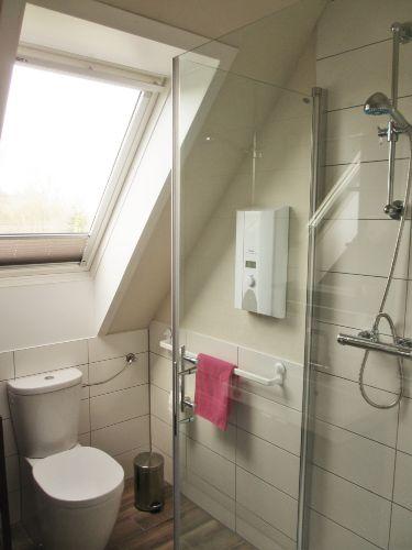 WC und Duschbereich