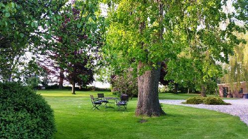 Parkähnliches Grundstück zum träumen