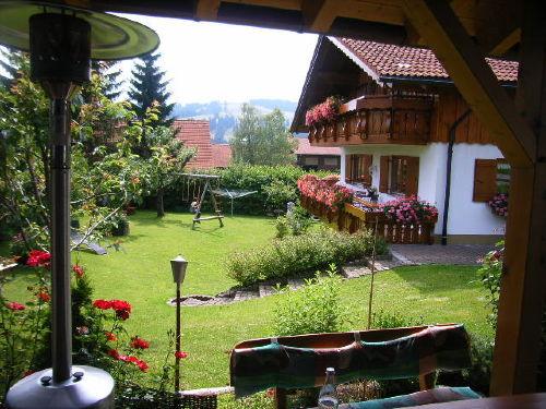 Garten und Haupthaus