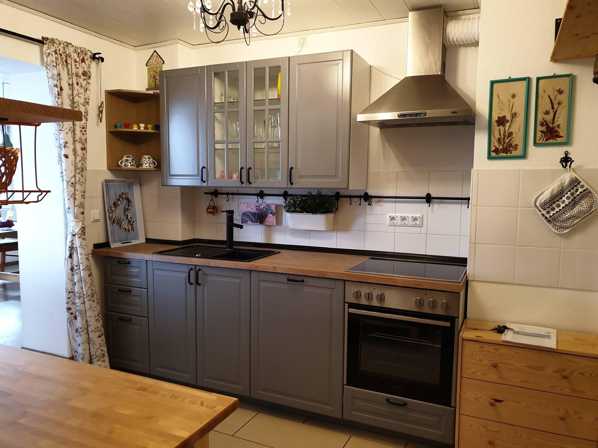 Küche - Blick von der Sea Lounge aus