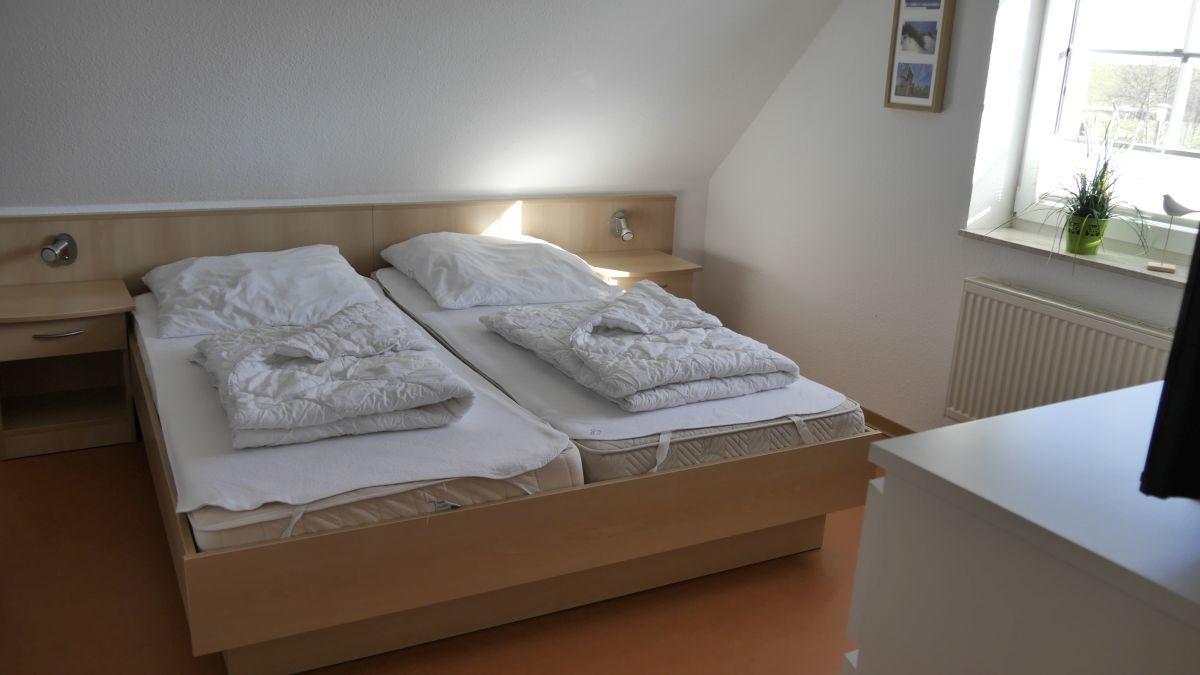 Doppelbett im OG