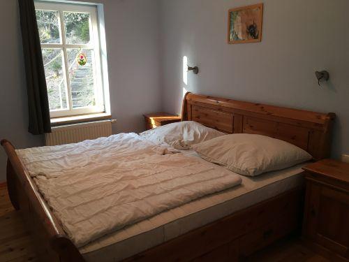 Ferienwohnung Ahorn Schlafzimmer