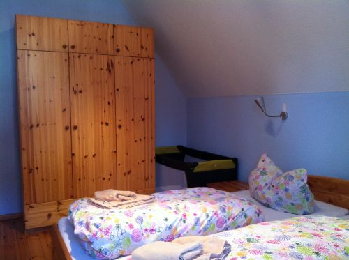 Ferienwohnung Buche Schlafzimmer