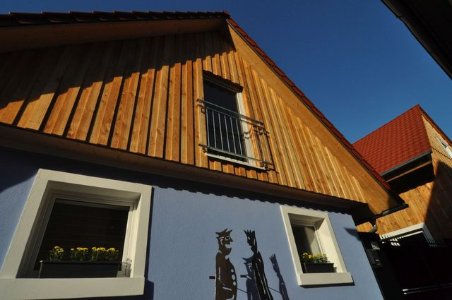 AUSFAHRT FREIBURG, Haus Pia: Wohnen auf vier Ebene