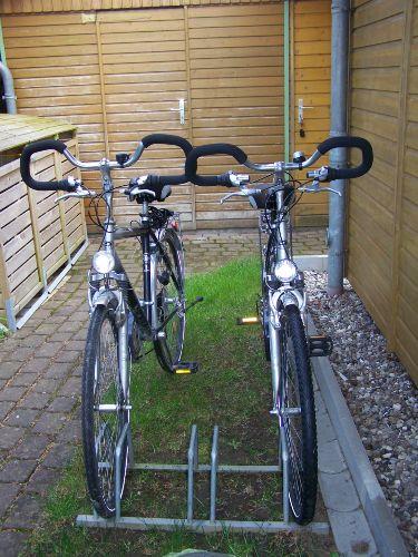 Fahrräder um den Ort zu erkunden