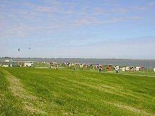 Liegewiese Strand Hooksiel