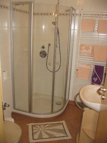 Dusche - WC, Ferienwohnung 2
