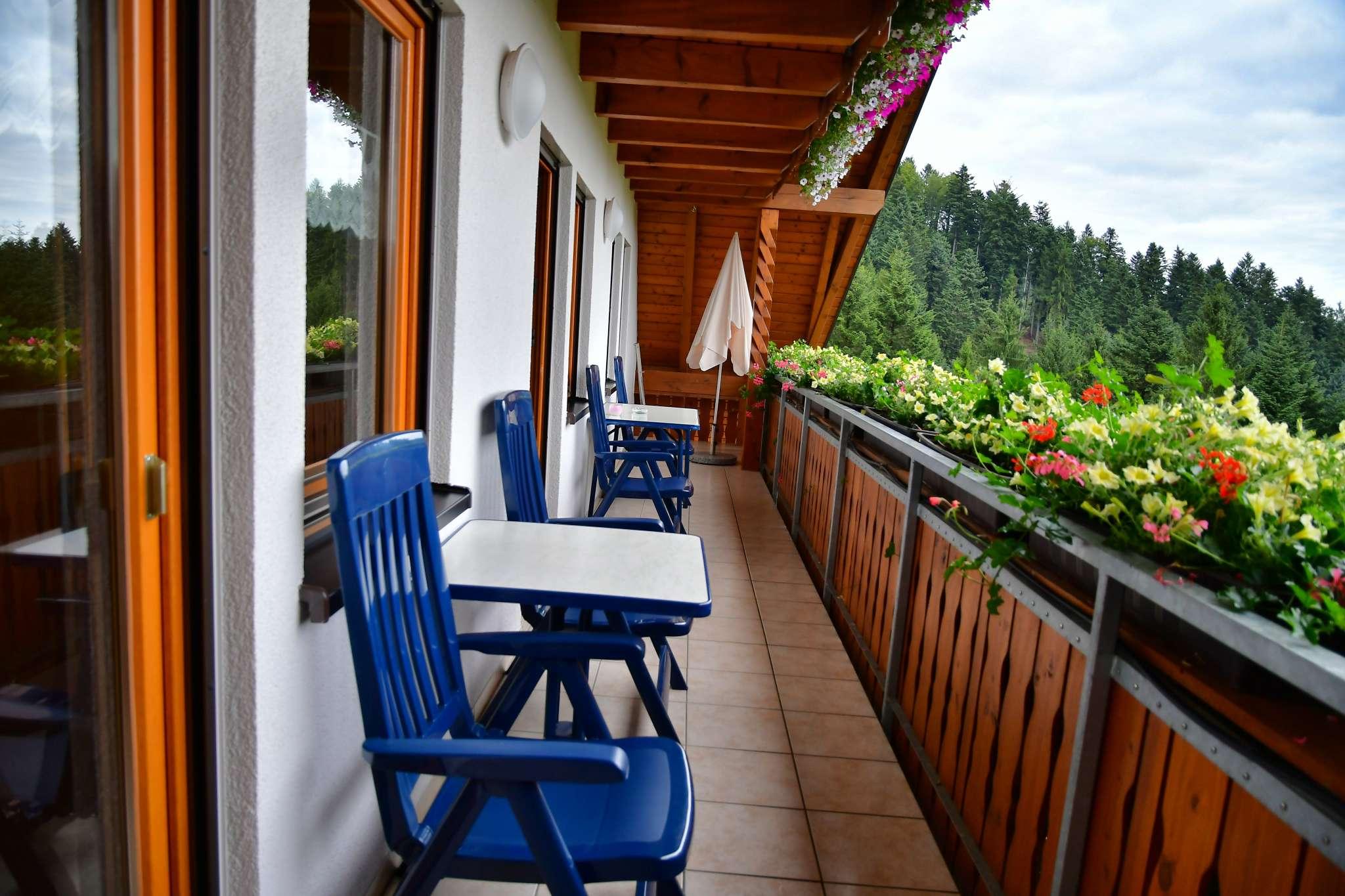 Balkon, Ferienwohnung 2