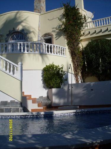 Südseite mit Pool