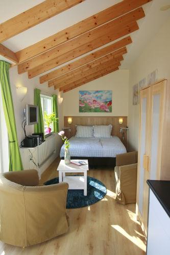 Schlafen, Wohnen und Kochen in 22 m²