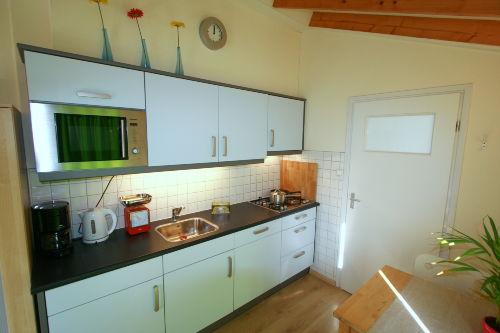 Küche ist völlig ausgestattet!