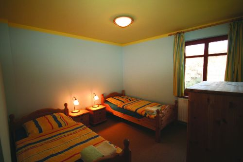 Kinderzimmer im EG mit 2 Betten