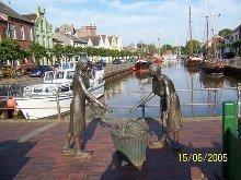 Alter Hafen in Weener