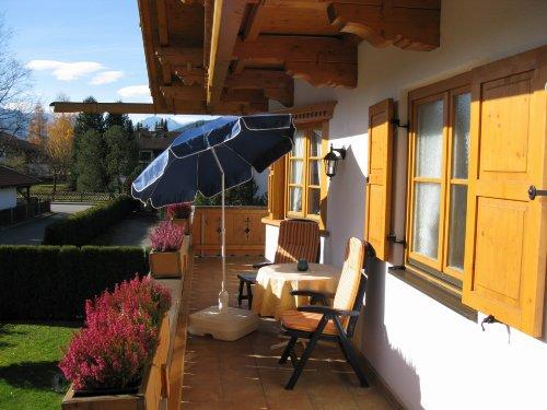 Großzügige Balkone zum Relaxen