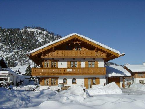 Wintertraum-Langlaufloipe vor der Tür!