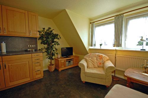 Wohnzimmer - Blick auf TV-Ecke