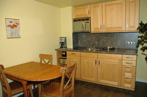Wohnzimmer - Blick auf Küchenzeile