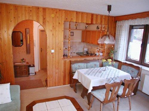 Essecke / Küche Ferienwohnung 1