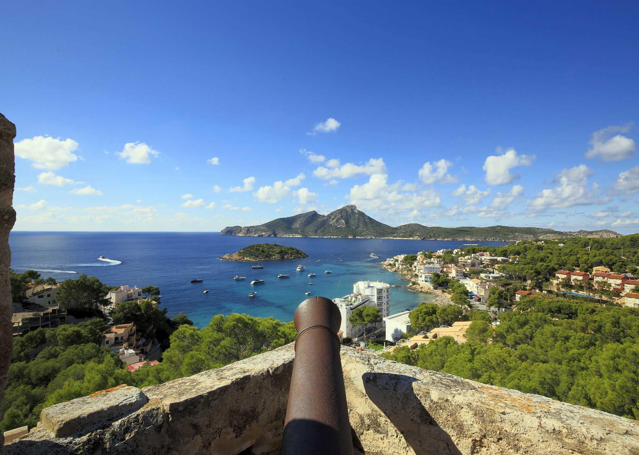Castell de Sant Elm | Kanone
