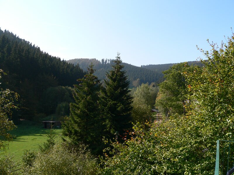 Blick von Haus 3 ins Tal