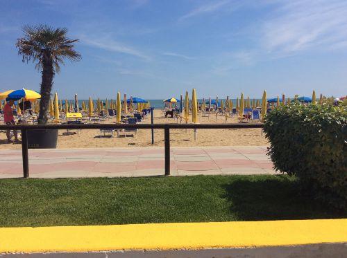 Blick vom Liegeplatz zum Meer