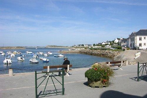 Portivy Hafen 200 Meter vom Haus