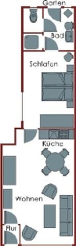 Ferienwohnungen Wittke Westerland, 2-Zimmerwohnung
