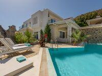 Luxusvilla Ella, gro�er Pool mit Gegenstromanlage und Salzwasserpool in Pitsidia - kleines Detailbild
