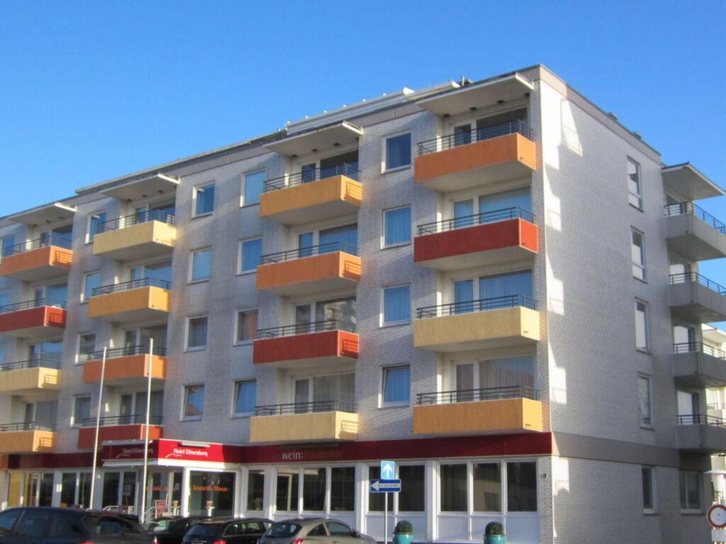 Haus Dünenburg mit Meerblick Wohnung Nr. 52, Haus