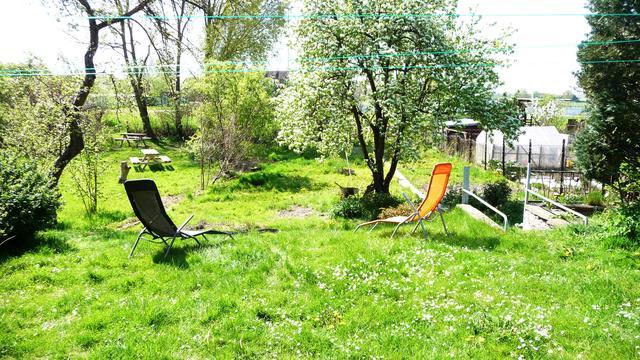 zentrumsnahe Ferienwohnung in Röbel mit großem Gar