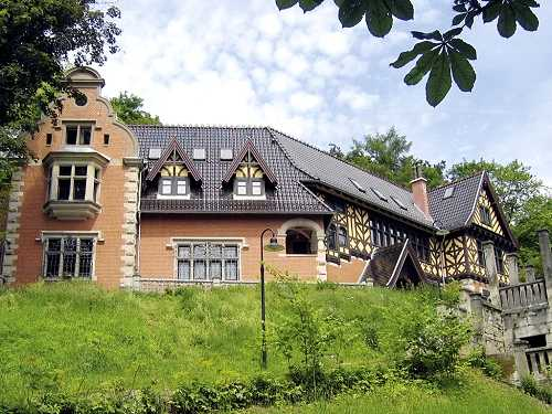Palais am Prinzenberg, Sommeransicht