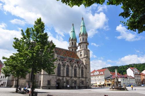 Marktplatz in Meiningen
